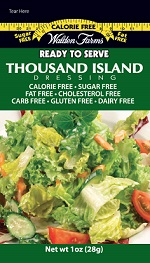 Thousand Island Dressing Packets