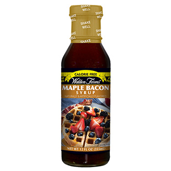 NEW ITEM! 25% off promotion! Maple Bacon Syrup!