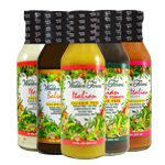 Italian, Zesty Italian, Itialian w/ Sun-Dried Tomato, Creamy Italian and Balsamic Vinaigrette Dressings Variety Pack
