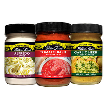 Alfredo, Tomato & Basil and Garlic & Herb Pasta Sauces Variety Pack