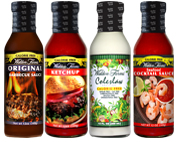 Ketchup, Coleslaw, Seafood Cocktail Sauce and Original BBQ Sauce Variety Pack