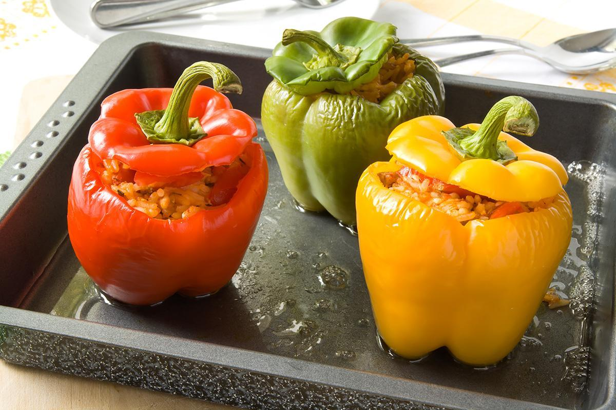 Baked Stuffed Peppers Recipe Photo