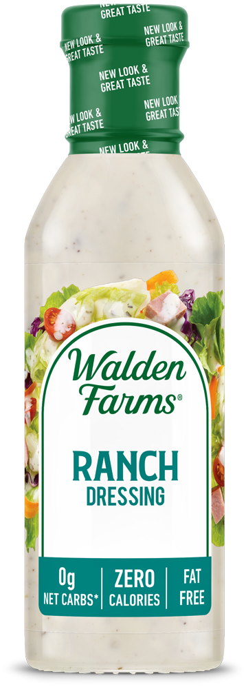 Walden Farms Dressing – Ranch (12oz) Product Rendering