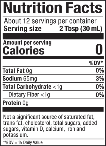 Strawberry Syrup Nutrition Facts